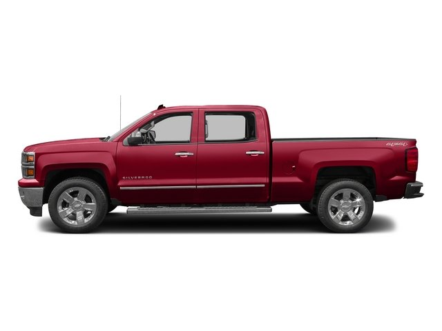 2015 Chevrolet Silverado 1500 Prices and Values Crew Cab LS 2WD side view