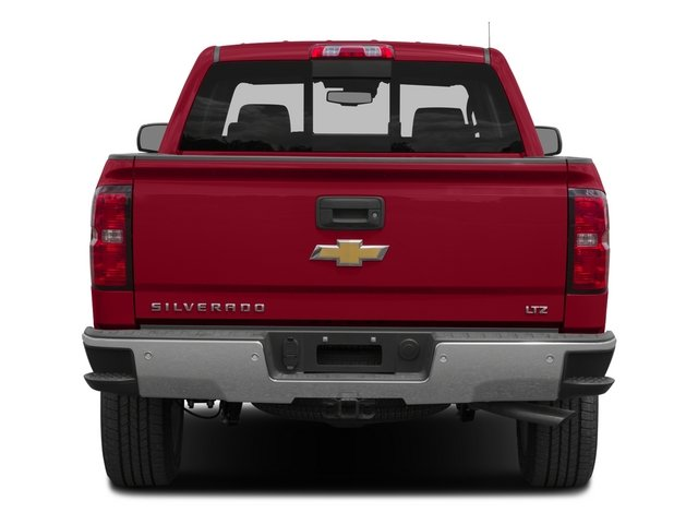2015 Chevrolet Silverado 1500 Prices and Values Crew Cab LTZ 4WD rear view