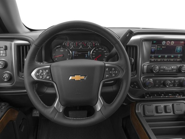 2015 Chevrolet Silverado 1500 Prices and Values Crew Cab LTZ 4WD driver's dashboard