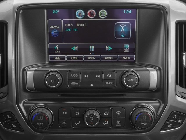 2015 Chevrolet Silverado 1500 Prices and Values Crew Cab LS 2WD stereo system