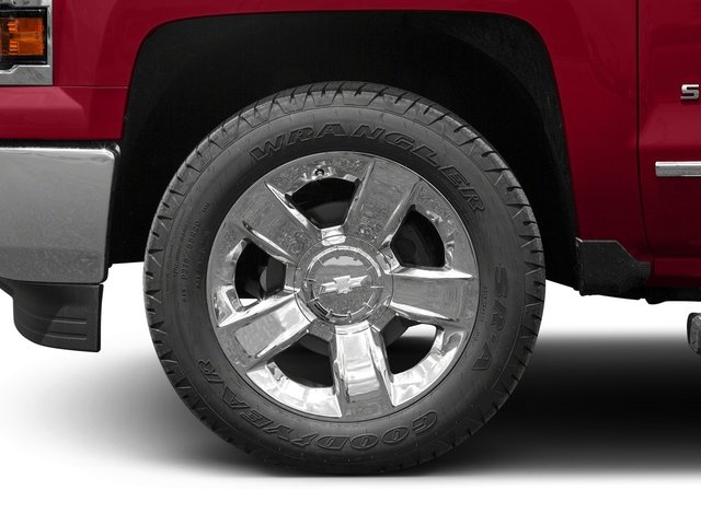 2015 Chevrolet Silverado 1500 Prices and Values Crew Cab LTZ 4WD wheel