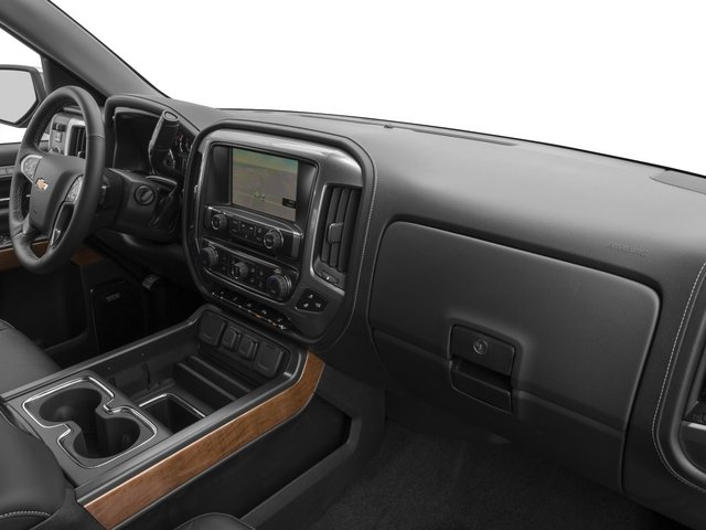 2015 Chevrolet Silverado 1500 Prices and Values Crew Cab LTZ 4WD passenger's dashboard