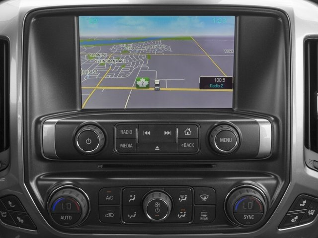 2015 Chevrolet Silverado 1500 Prices and Values Crew Cab LS 2WD navigation system