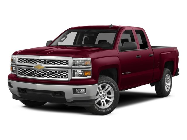 2015 Chevrolet Silverado 1500 Prices and Values Extended Cab Work Truck 2WD side front view