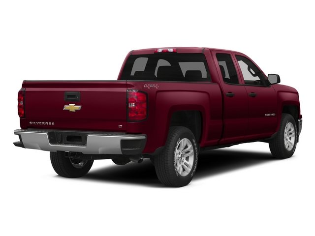 2015 Chevrolet Silverado 1500 Prices and Values Extended Cab Work Truck 2WD side rear view
