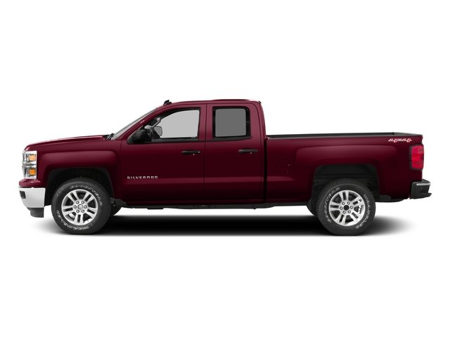 2015 Chevrolet Silverado 1500 Pictures Silverado 1500 Extended Cab LTZ 2WD photos side view