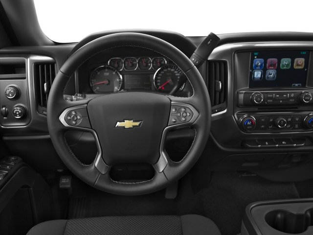 2015 Chevrolet Silverado 1500 Prices and Values Extended Cab Work Truck 2WD driver's dashboard