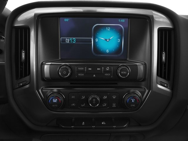 2015 Chevrolet Silverado 1500 Prices and Values Extended Cab Work Truck 2WD stereo system