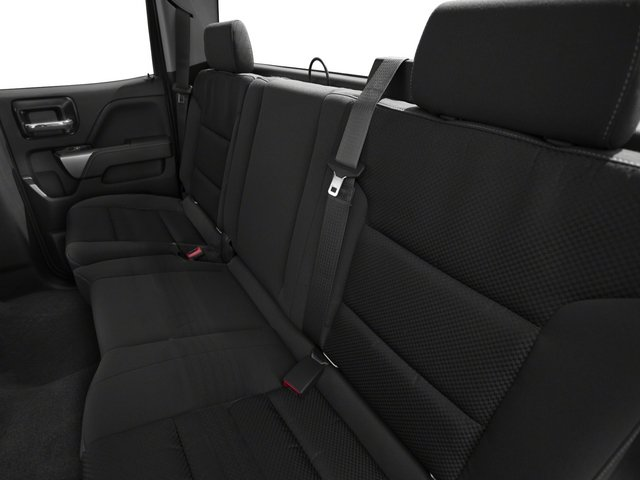 2015 Chevrolet Silverado 1500 Pictures Silverado 1500 Extended Cab LTZ 2WD photos backseat interior
