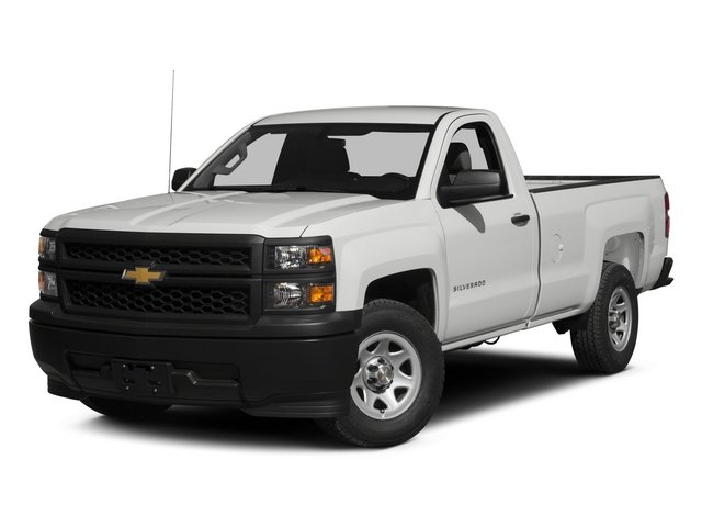 2015 Chevrolet Silverado 1500 Prices and Values Regular Cab Work Truck 4WD side front view