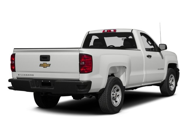 2015 Chevrolet Silverado 1500 Prices and Values Regular Cab Work Truck 4WD side rear view