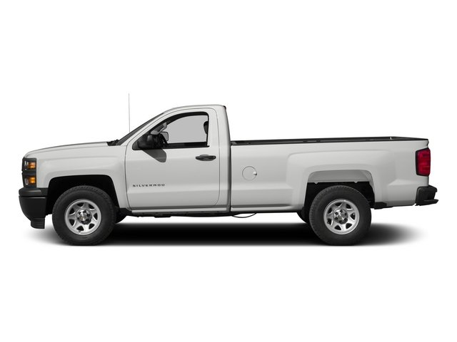 2015 Chevrolet Silverado 1500 Prices and Values Regular Cab Work Truck 4WD side view