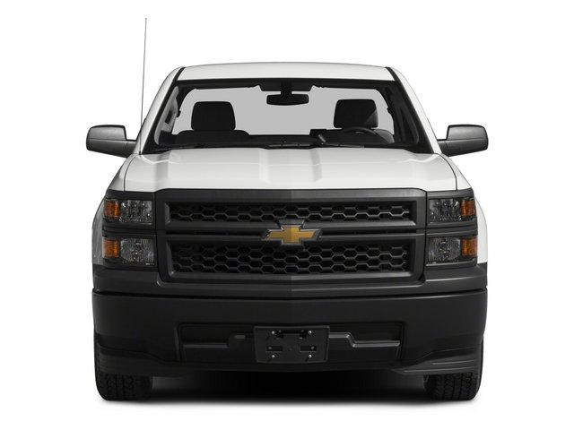 2015 Chevrolet Silverado 1500 Prices and Values Regular Cab Work Truck 4WD front view