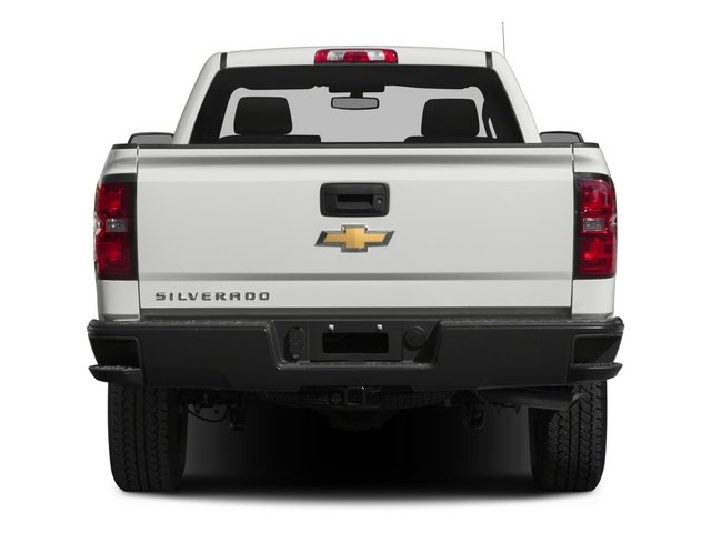 2015 Chevrolet Silverado 1500 Prices and Values Regular Cab Work Truck 4WD rear view