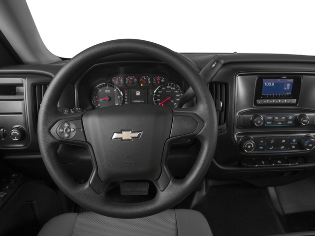 2015 Chevrolet Silverado 1500 Prices and Values Regular Cab Work Truck 4WD driver's dashboard