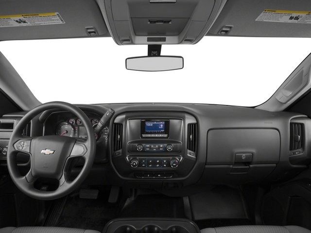 2015 Chevrolet Silverado 1500 Prices and Values Regular Cab Work Truck 4WD full dashboard