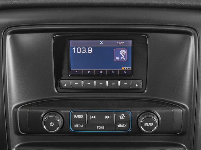 2015 Chevrolet Silverado 1500 Prices and Values Regular Cab Work Truck 4WD stereo system