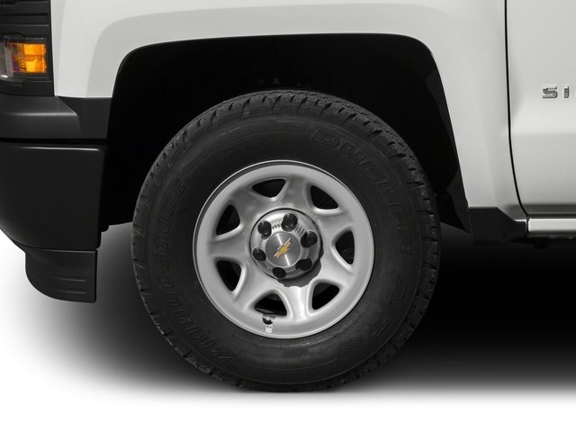 2015 Chevrolet Silverado 1500 Prices and Values Regular Cab Work Truck 2WD wheel