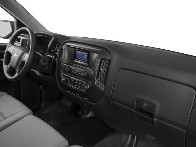 2015 Chevrolet Silverado 1500 Prices and Values Regular Cab Work Truck 4WD passenger's dashboard