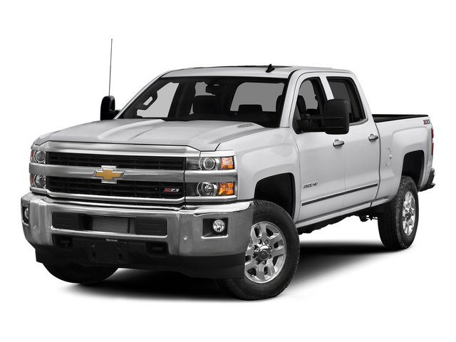 2015 Chevrolet Silverado 2500HD Prices and Values Crew Cab Work Truck 2WD side front view