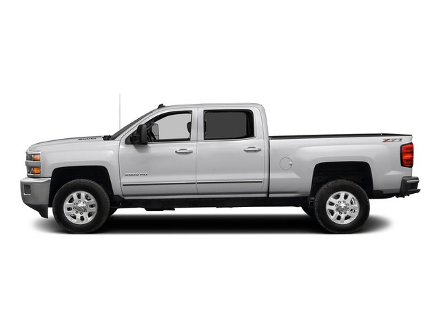 2015 Chevrolet Silverado 2500HD Pictures Silverado 2500HD Crew Cab LT 4WD photos side view