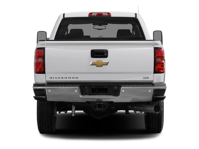 2015 Chevrolet Silverado 2500HD Prices and Values Crew Cab Work Truck 2WD rear view