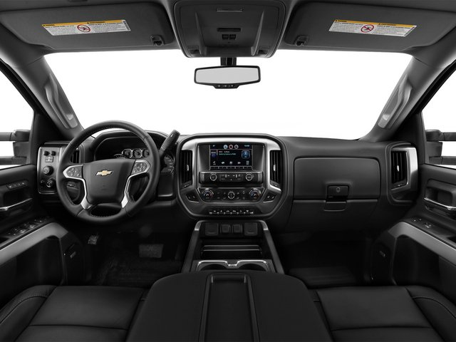 2015 Chevrolet Silverado 2500HD Pictures Silverado 2500HD Crew Cab LT 4WD photos full dashboard