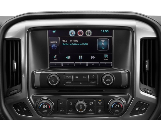 2015 Chevrolet Silverado 2500HD Prices and Values Crew Cab Work Truck 2WD stereo system