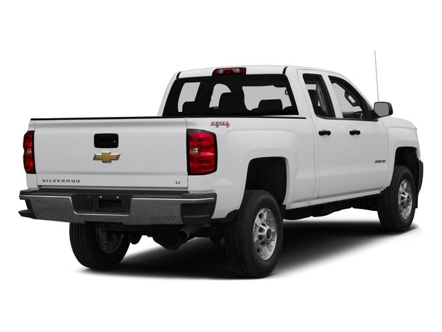 2015 Chevrolet Silverado 2500HD Pictures Silverado 2500HD Extended Cab LTZ 2WD photos side rear view
