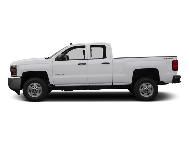 2015 Chevrolet Silverado 2500HD Pictures Silverado 2500HD Extended Cab LTZ 2WD photos side view