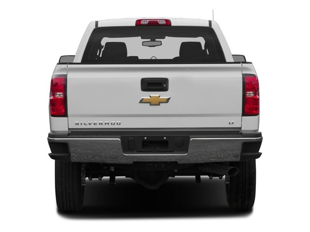 2015 Chevrolet Silverado 2500HD Pictures Silverado 2500HD Extended Cab LTZ 2WD photos rear view