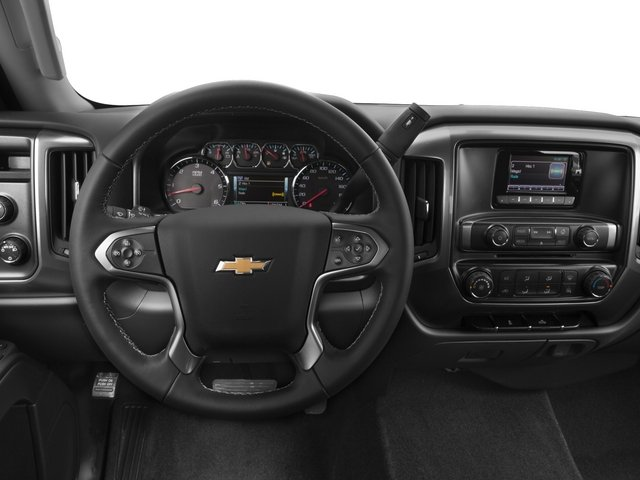 2015 Chevrolet Silverado 2500HD Prices and Values Extended Cab LTZ 2WD driver's dashboard