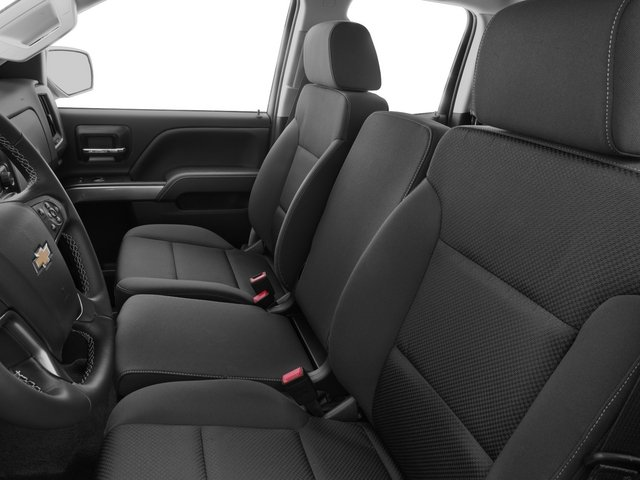 2015 Chevrolet Silverado 2500HD Prices and Values Extended Cab LTZ 2WD front seat interior