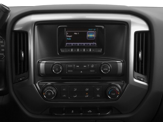 2015 Chevrolet Silverado 2500HD Prices and Values Extended Cab LT 2WD stereo system