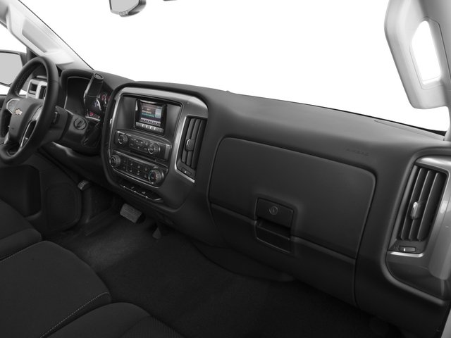 2015 Chevrolet Silverado 2500HD Prices and Values Extended Cab LTZ 2WD passenger's dashboard