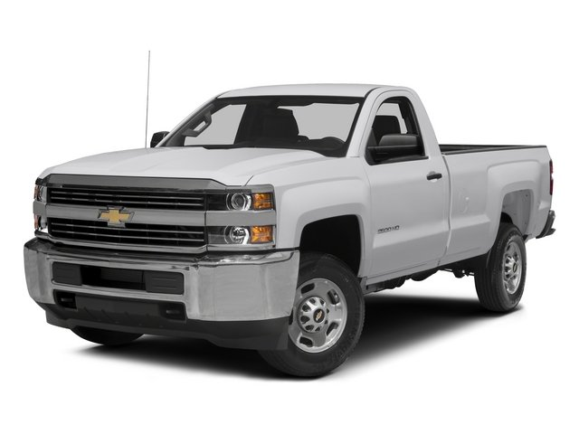 2015 Chevrolet Silverado 2500HD Pictures Silverado 2500HD Regular Cab LT 2WD photos side front view