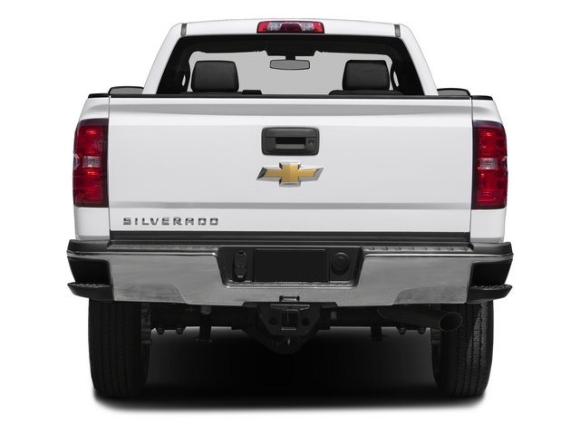 2015 Chevrolet Silverado 2500HD Pictures Silverado 2500HD Regular Cab LT 2WD photos rear view