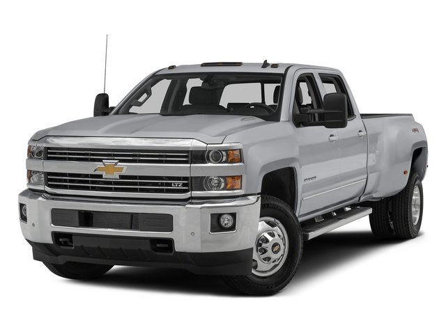 2015 Chevrolet Silverado 3500HD Prices and Values Crew Cab Work Truck 2WD side front view