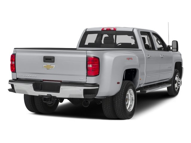 2015 Chevrolet Silverado 3500HD Prices and Values Crew Cab Work Truck 2WD side rear view