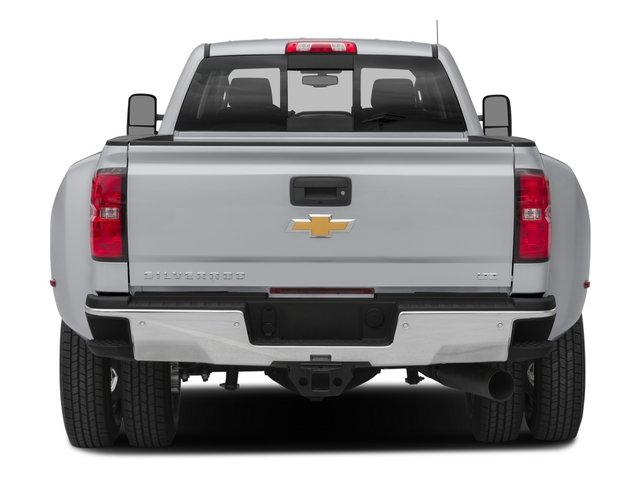 2015 Chevrolet Silverado 3500HD Built After Aug 14 Prices and Values Crew Cab High Country 4WD rear view