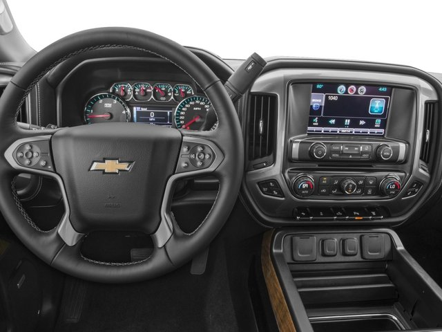 2015 Chevrolet Silverado 3500HD Built After Aug 14 Prices and Values Crew Cab High Country 4WD driver's dashboard