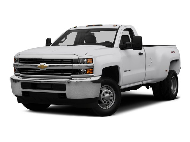 2015 Chevrolet Silverado 3500HD Pictures Silverado 3500HD Regular Cab LT 4WD photos side front view
