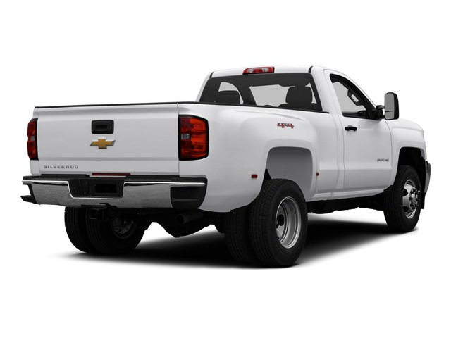 2015 Chevrolet Silverado 3500HD Pictures Silverado 3500HD Regular Cab LT 4WD photos side rear view