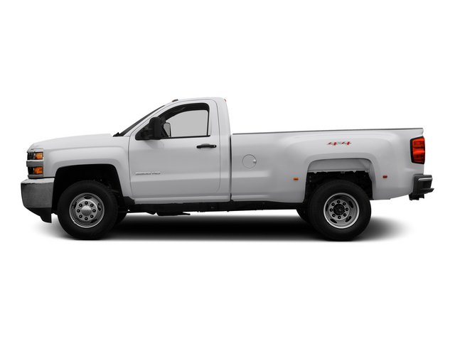 2015 Chevrolet Silverado 3500HD Pictures Silverado 3500HD Regular Cab LT 4WD photos side view