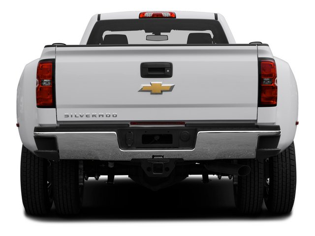 2015 Chevrolet Silverado 3500HD Pictures Silverado 3500HD Regular Cab LT 4WD photos rear view