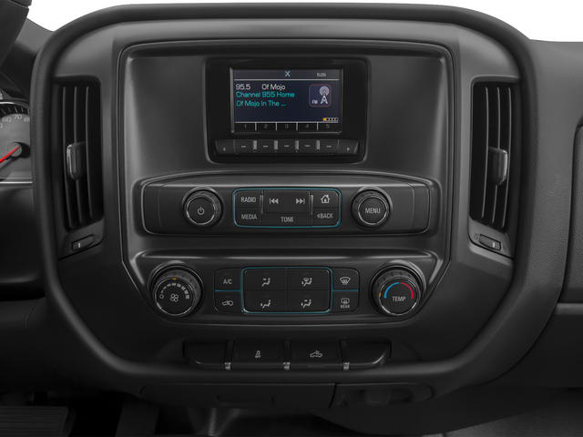 2015 Chevrolet Silverado 3500HD Pictures Silverado 3500HD Regular Cab LT 4WD photos stereo system