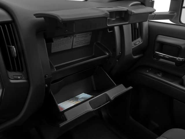 2015 Chevrolet Silverado 3500HD Pictures Silverado 3500HD Regular Cab LT 4WD photos glove box