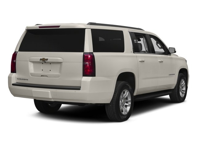 2015 Chevrolet Suburban Pictures Suburban Utility 4D Fleet 4WD V8 photos side rear view