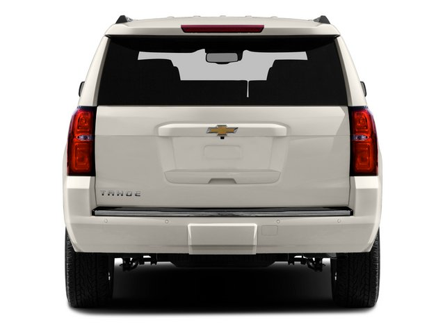 2015 Chevrolet Tahoe Prices and Values Utility 4D LTZ 2WD V8 rear view