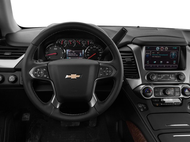2015 Chevrolet Tahoe Prices and Values Utility 4D LTZ 2WD V8 driver's dashboard